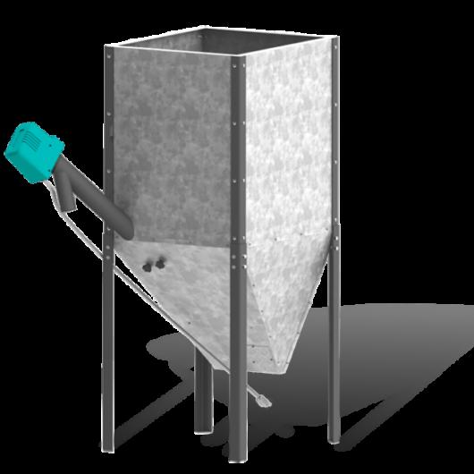 Centrometal pellet tartályok (370-4000 liter)