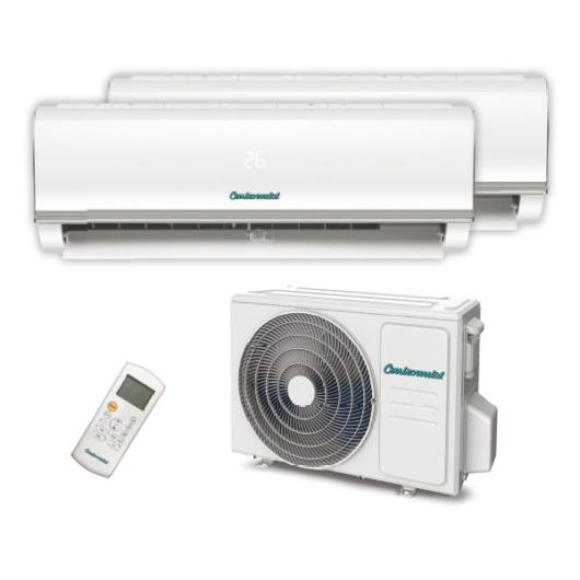Centrometal AC-CM MD-14000 oldalfali split hűtő/fűtő klíma 2 db beltéri egységgel (R32 - 4,1 kW)