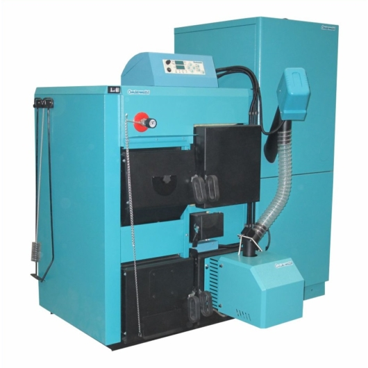 Centrometal CENTROPLUS + CM PELET-SET 25-50 kW pellet kazán
