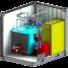 Kép 2/5 - Olaj- vagy gáztüzelésű konténer kazánházak - CK-U 18 - 1.500 kW