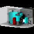 Kép 4/5 - Faaprítékkal / fa pellettel fűtött konténer kazánházak - CKK-S 160 - 340 kW
